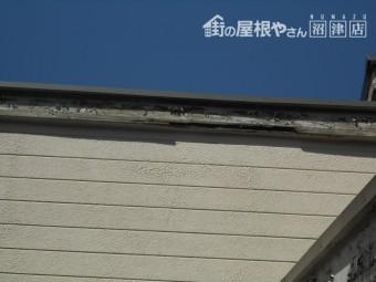 函南町破風板腐食