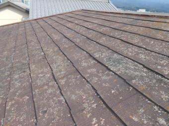 屋根が傷んでいる