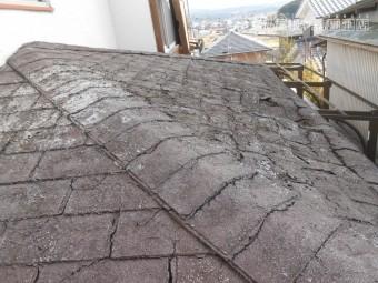 玄関上屋根腐食