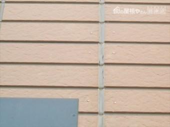 長泉町サイディング外壁目地裂け