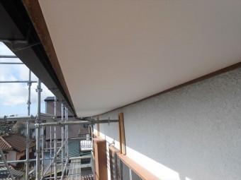 裾野市軒天井塗装