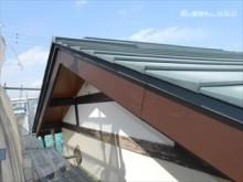 屋根破風板板金