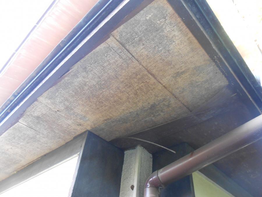 軒裏材の劣化