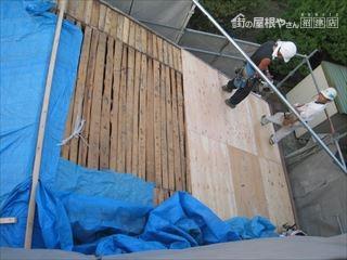 屋根下地木工事