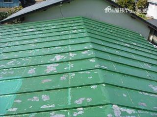 施工前屋根表面