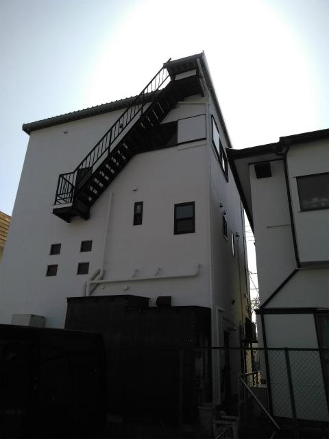 三島市 外壁塗装・錆止め完成後