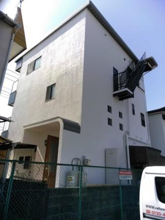 三島市 外壁塗装完成後