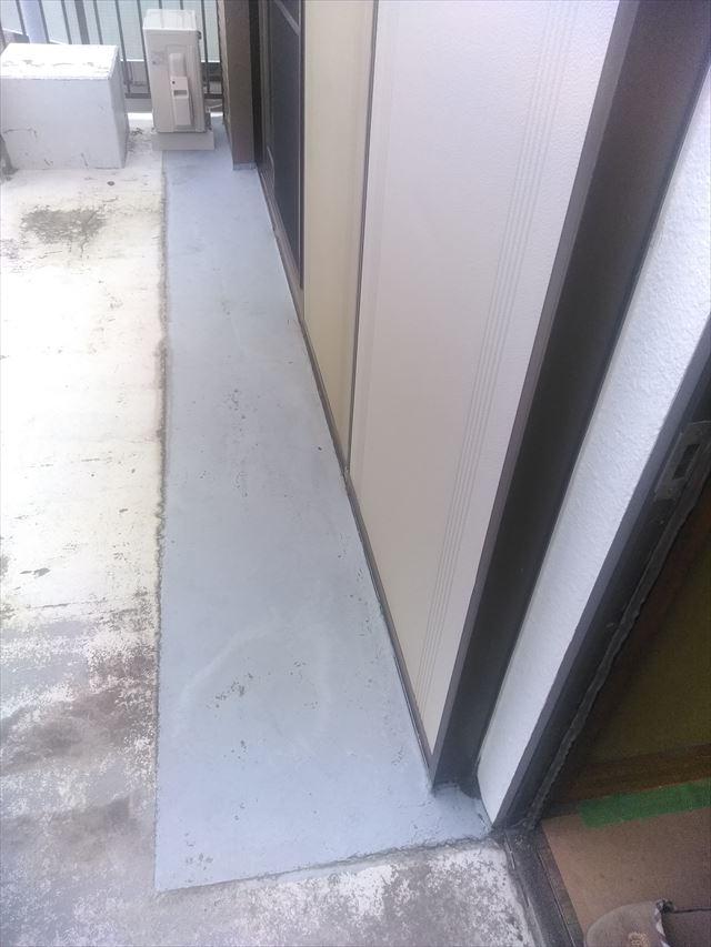 沼津市ベランダ雨漏り調
