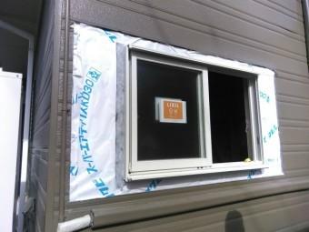 三島市 浴室窓取替