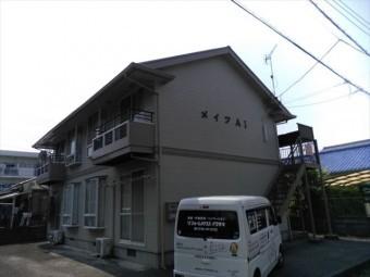 三島市2階建アパート外壁