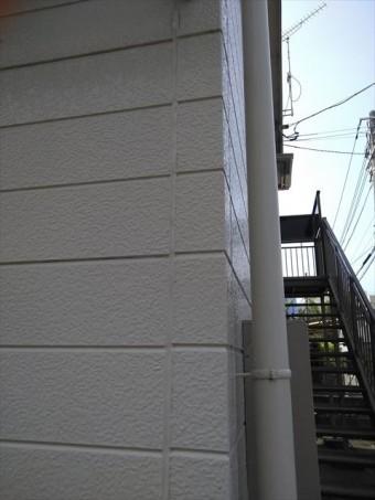 三島市アパート外壁チョーキング現象