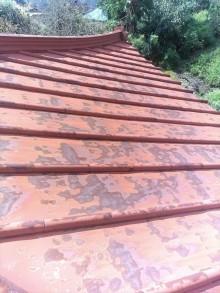 トタン屋根錆び
