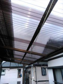 長泉町 台風被害によるテラス屋根工事をされたO様の声