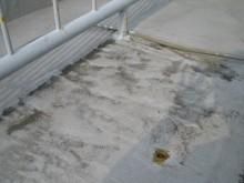 既存防水劣化
