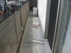 伊豆の国市ベランダ掃除
