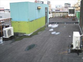 防水劣化による雨漏り