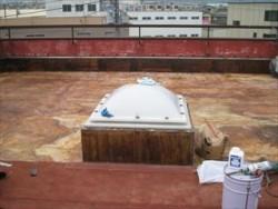 施工前防水層撤去