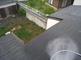 雨漏り水掛け調査