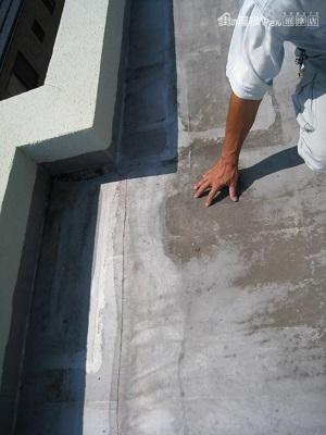 マンション屋上防水劣化