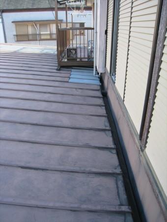 屋根雨漏り部分
