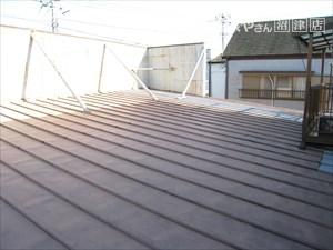 雨漏り 屋根部分