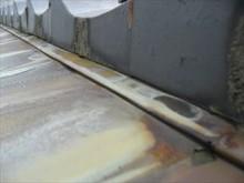 銅板接合部分