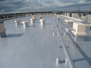 屋上塗装完成