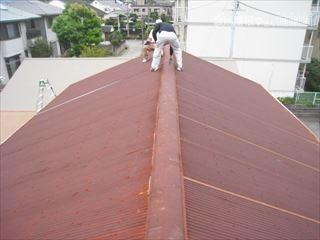 倉庫屋根計測