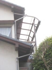 テラス屋根取付