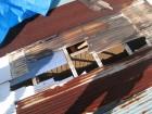 トタン屋根破損