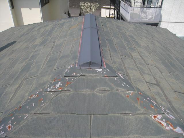 屋根塗装劣化