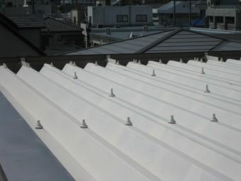 沼津市折半屋根塗装工事