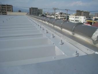 沼津市折半屋根塗装遮熱タイプ