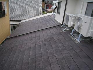 屋根材劣化状態