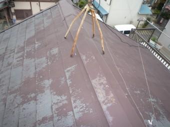 賃貸アパート屋根屋根現調