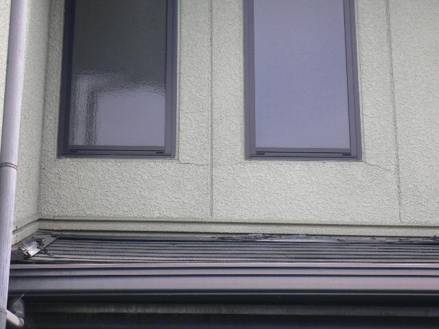 長泉町外壁 窓廻りクラック
