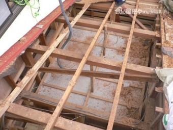沼津市屋根・野地板解体