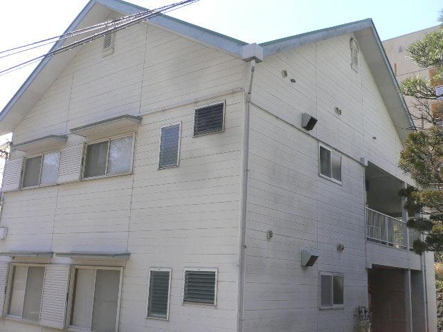 熱海市木造アパート塗装劣化