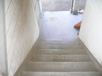 熱海市木造アパート防塵塗装劣化