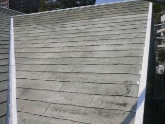 屋根塗膜劣化