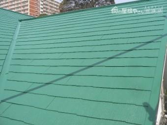 熱海市木造アパート屋根塗装