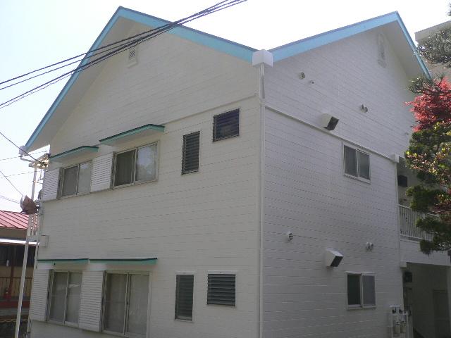 熱海市アパート塗装完成