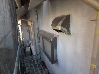 三島市外壁塗装前の状況