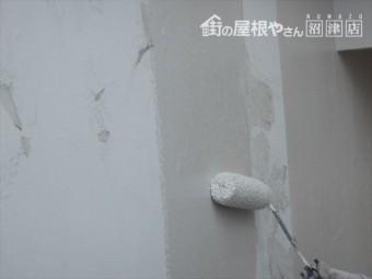 長泉町平屋漆喰塗装