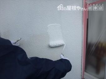 長泉町平屋下塗り塗布