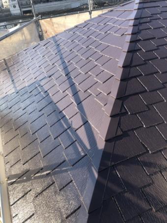 沼津市屋根塗装施工後
