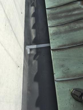 沼津雨漏り板金補修完工