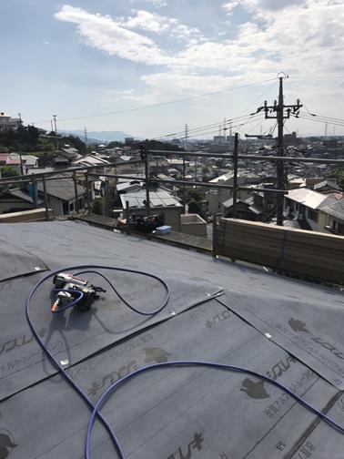 三島ストレート屋根ルーフィング