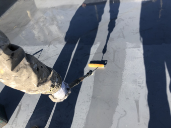 三島市アパート塗装屋上防水