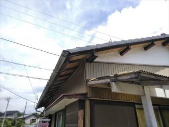 三島市借家母屋腐食